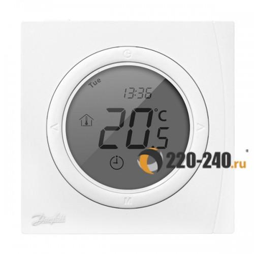 Терморегулятор Danfoss (DEVI) ECtemp™ Next Plus с датчиком пола и воздуха  (белый) 088L0121
