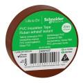 Изолента ПВХ 19мм Х 20м КОРИЧНЕВАЯ Schneider Electric (2420107)