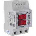 Реле напряжения с контролем тока 1 фаза, 3мод., 32А-40А, DigiTOP (VА-32)