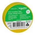 Изолента ПВХ 19мм Х 20м ЖЁЛТАЯ Schneider Electric (2420101)