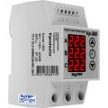 Реле контроля напряжения 3 фазы, 3мод., 1 пер.конт 6А-10A, DigiTOP (Vp-380V)