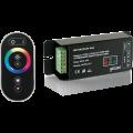 Контроллер для RGB 144W 12А с сенсорным пультом управления цветом (черный) PC201173144