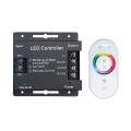 Контроллер для RGB 288W 24А с сенсорным пультом управления цветом (белый) 201013288