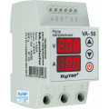 Реле напряжения с контролем тока 1 фаза, 3мод., 50А-60А, DigiTOP (VА-50)