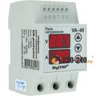 Реле напряжения с контролем тока 1 фаза, 3мод., 40А-50А, DigiTOP (VА-40)