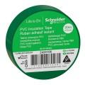 Изолента ПВХ 19мм Х 20м ЗЕЛЁНАЯ Schneider Electric (2420106)